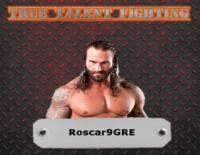 Wrestler Cards Roscar14