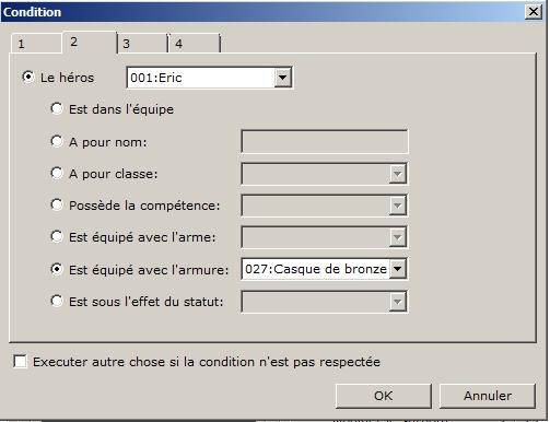 Afficher les équipements sur le Personnage Ytape310