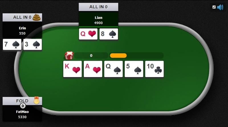 Poker Texas Hold'em P0110