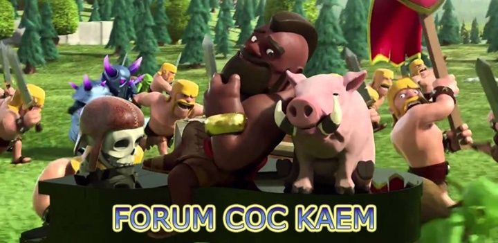 CLASH OF CLAN KAEM TEAM