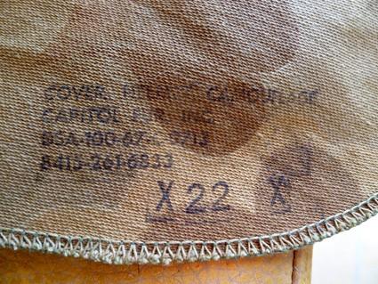casques US M1 période 1964 a 1973. A17