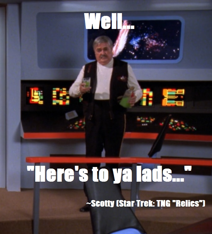 Space the final Frontier  Scotty10