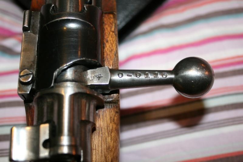 """Mon premier jouet, Mauser M43 """"la Coruna"""" Img_8312"""