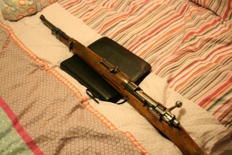 """Mon premier jouet, Mauser M43 """"la Coruna"""" Img_8323"""