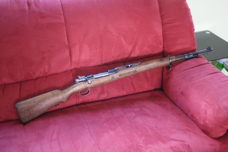 """Mon premier jouet, Mauser M43 """"la Coruna"""" Img_8324"""