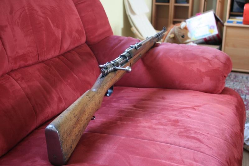 """Mon premier jouet, Mauser M43 """"la Coruna"""" Img_8328"""