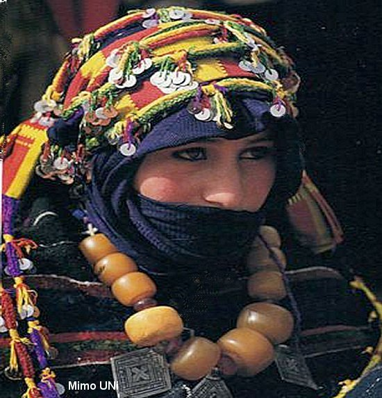 berbere - La beauté Amazigho berbere  a battu tous les records Fille_11