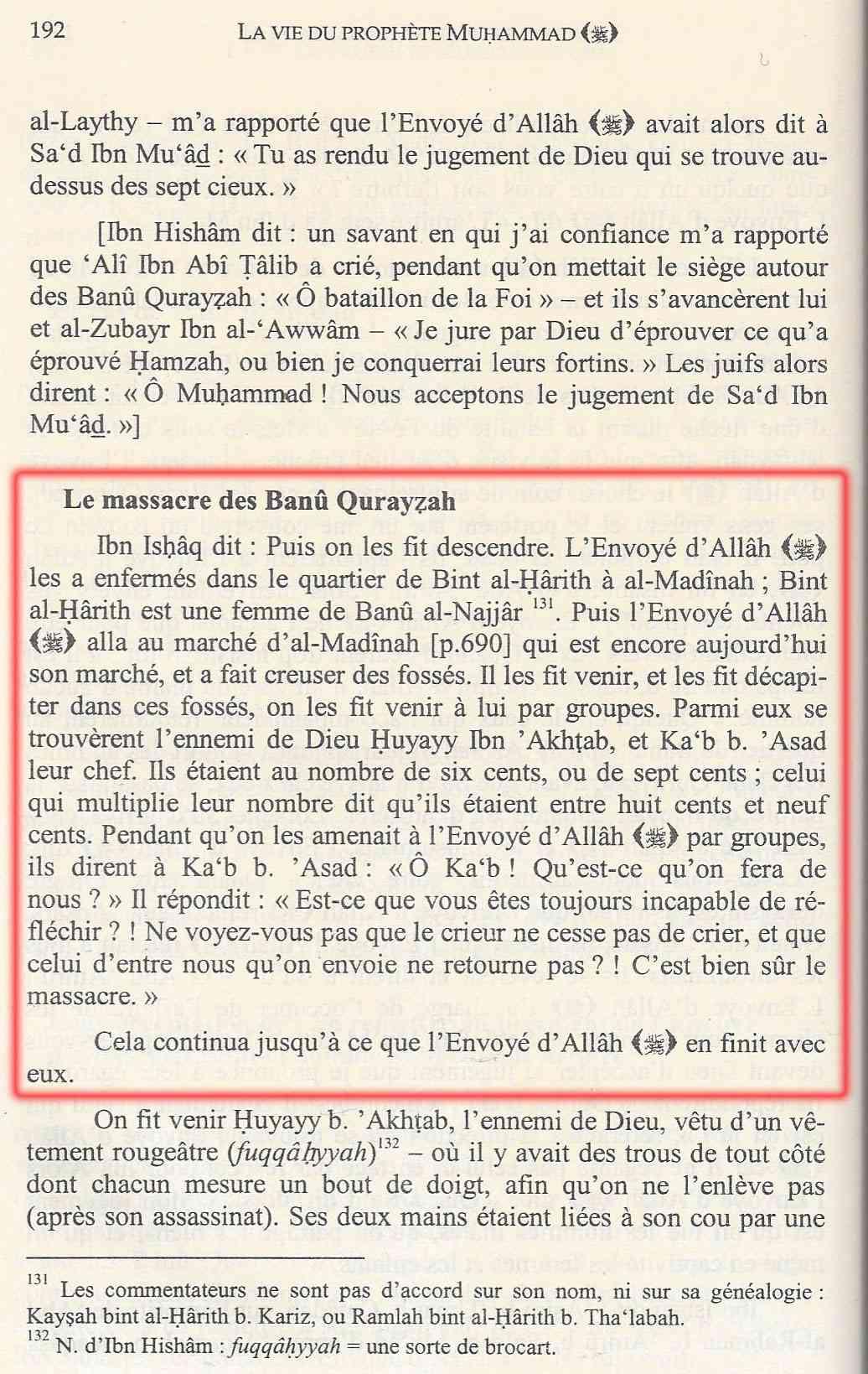 Les GUERRES de Mahomet  Ishaq_11