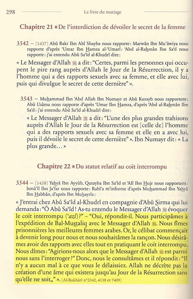 VIOL et PEDOPHILIE (Coran 65.4) Muslim10