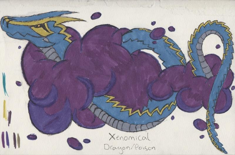 Official Fakemon Contest #1! Xenomi12