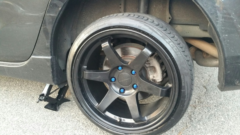 FS/WTT Varrstoen ES2's 17x9 +22 w/tires 20150311