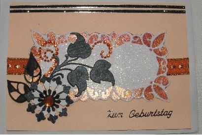 grusskarten mit Fadengrafik oder Stanzteilen 11111111
