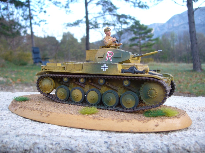 Pz.Kpfw. II Ausf. F/G - TAMIYA - 1/35 (voir photo page 3) - Page 2 Essai_10