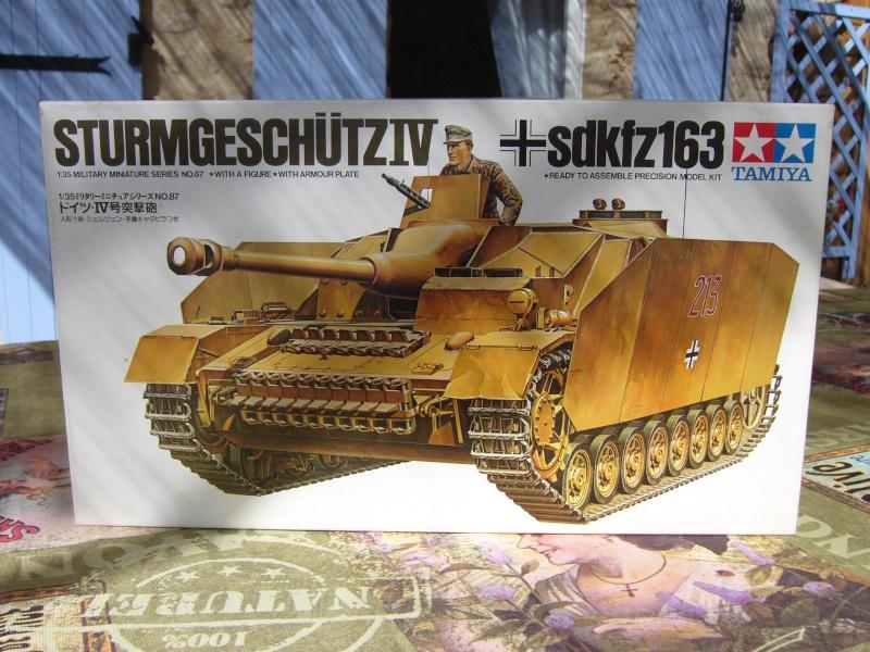 Sd.Kfz. 163 Sturmgeschütz IV Tamiya + chenilles Tamiya + Zimmerit Eduard +canon RB Model - 1/35 Sturm_10