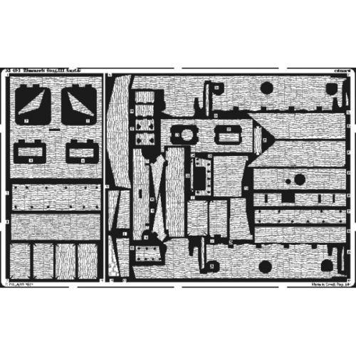 Sd.Kfz. 163 Sturmgeschütz IV Tamiya + chenilles Tamiya + Zimmerit Eduard +canon RB Model - 1/35 Zimmer10