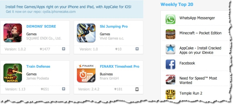 List of Websites to Download Cracked iPAS for iOS Iphone10
