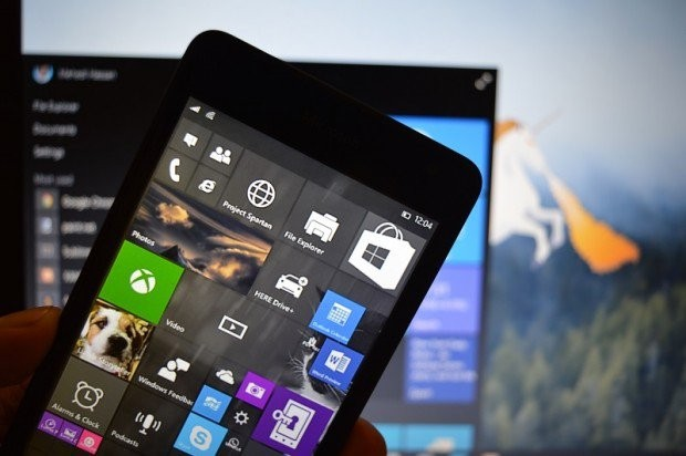 Leaked screen shots of Windows 10 for phone build 10070  Window10