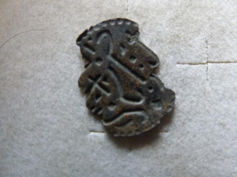 matrice de sceau médiévale anépigraphe P1030120