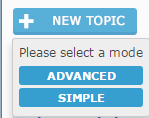 How do I do that when you press the button Add a new topic..؟ 2015-012