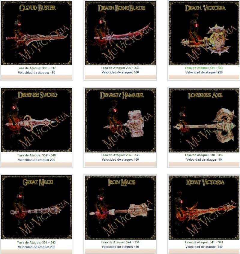 DK - BK - BM l DW - SM - GM l MG - DM l DL - LE : ARMAS NUEVAS Screen29