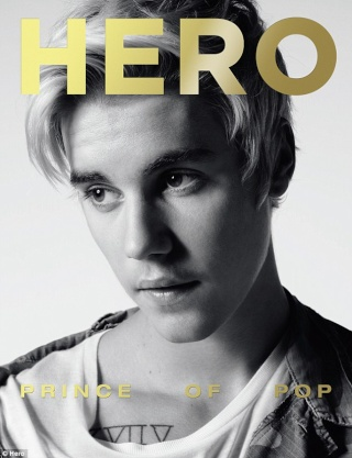 Justin Bieber shows off a more vulnerable side as he lets his guard down on cover of Hero magazine  281a2810