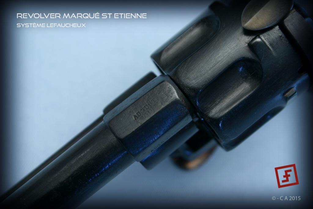 """Revolver """"Lefaucheux"""" 8mm en trop bon état ! Lefauc12"""