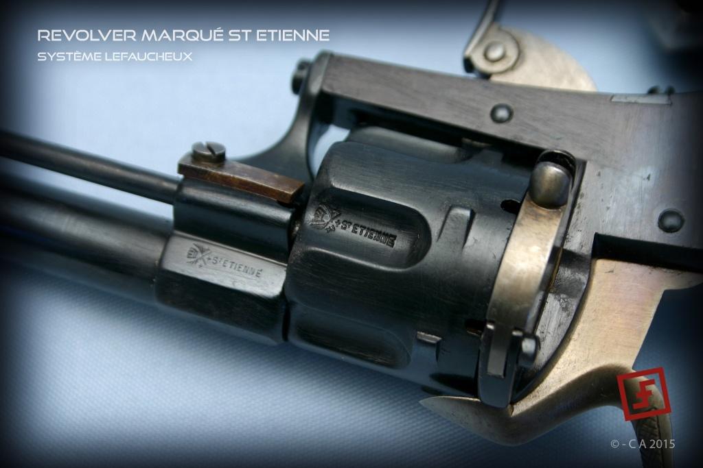 """Revolver """"Lefaucheux"""" 8mm en trop bon état ! Lefauc13"""