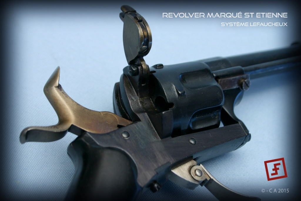 """Revolver """"Lefaucheux"""" 8mm en trop bon état ! Lefauc14"""