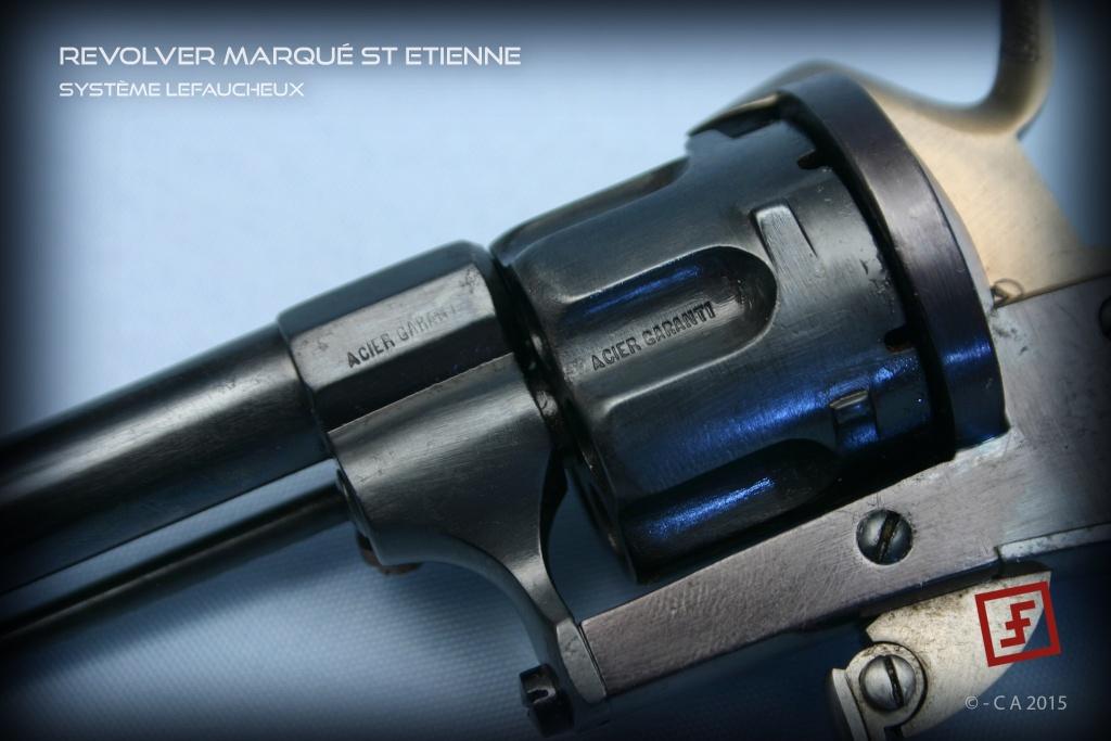 """Revolver """"Lefaucheux"""" 8mm en trop bon état ! Lefauc15"""