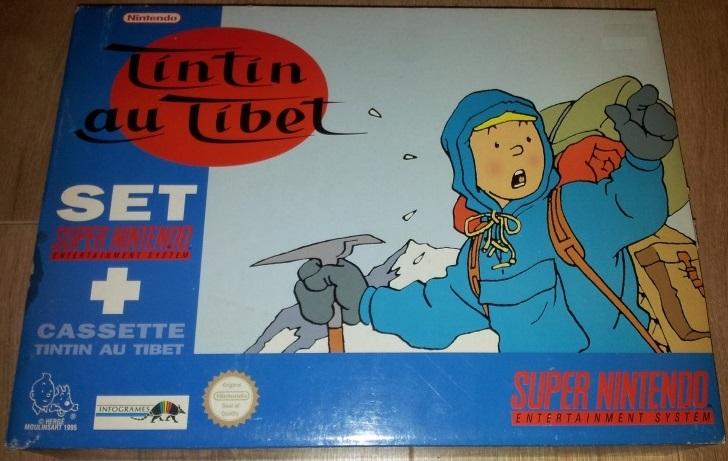 [SNES] Tintin au tibet Set Collector Tintin10