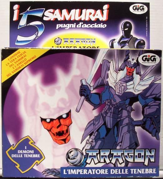 vendo ARAGON de I 5 SAMURAI Samura10