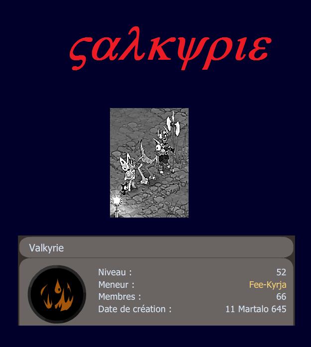 Candidature Valkyrie Valken11