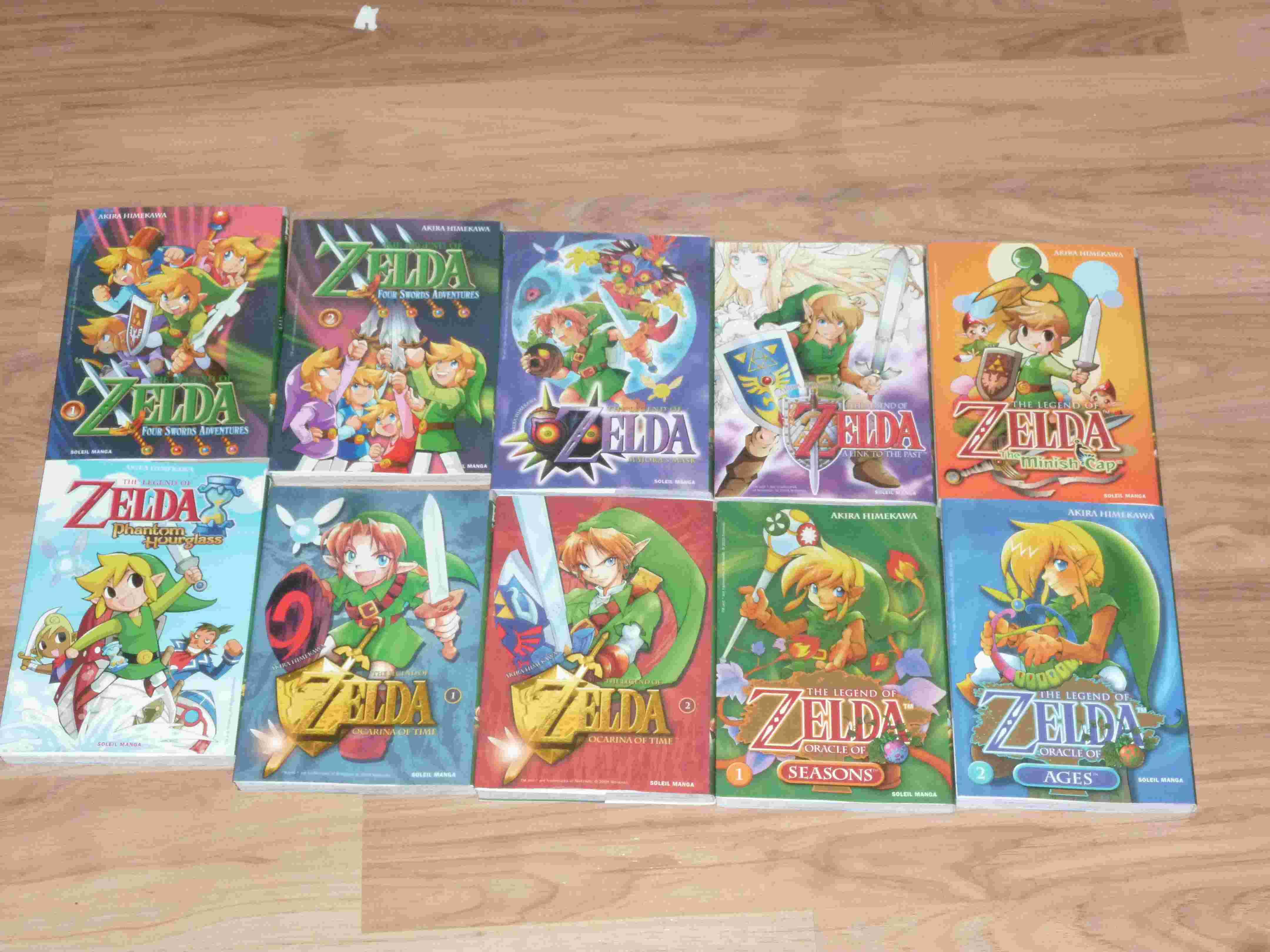 Ma collection sur zelda ^^ P1050710