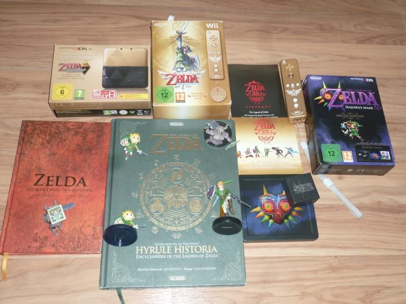 Ma collection sur zelda ^^ P1050711