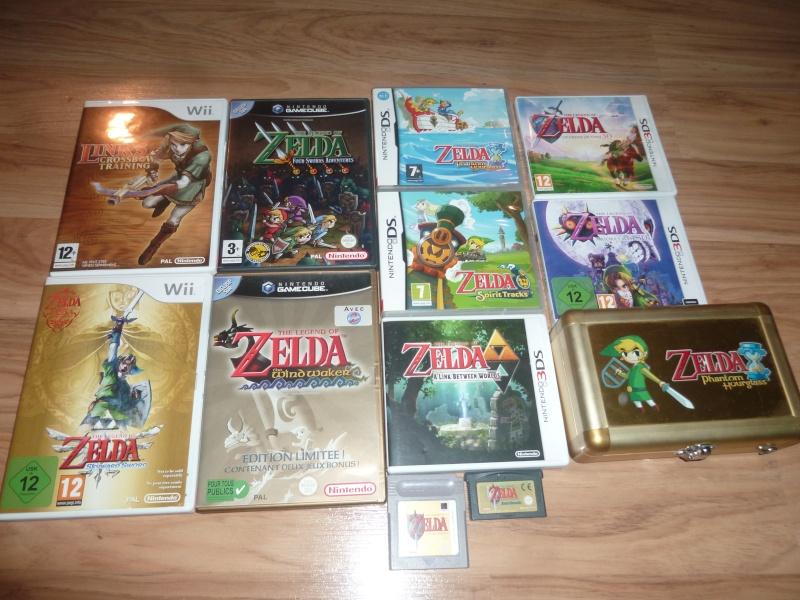 Ma collection sur zelda ^^ P1050718