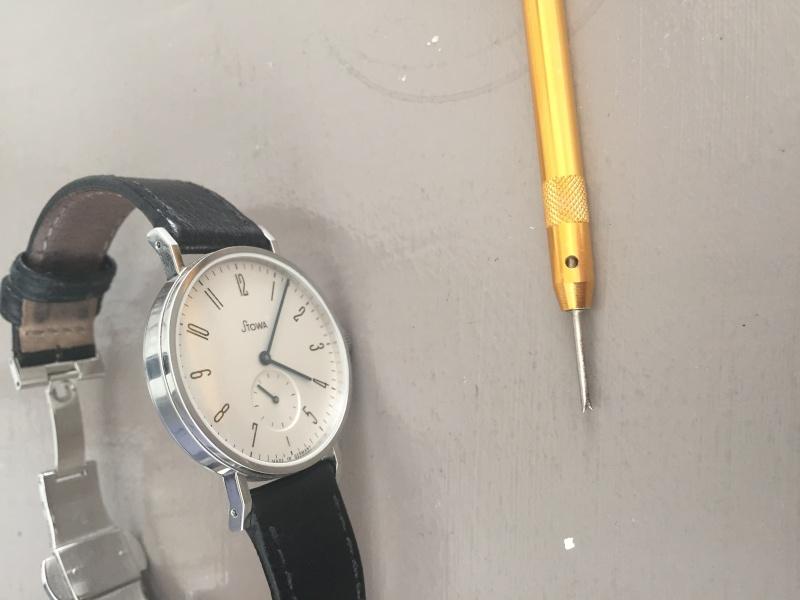 stowa - Changer le bracelet d'une montre Stowa KS Img_0010
