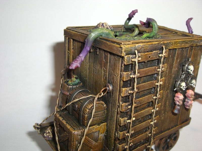First Post. Lets go with... Plague Cart WIP Pc210