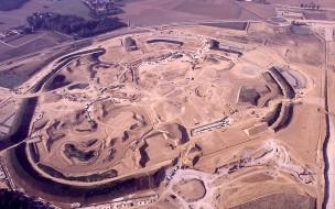Photos de la construction du Parc Disneyland - Page 4 1988-c10
