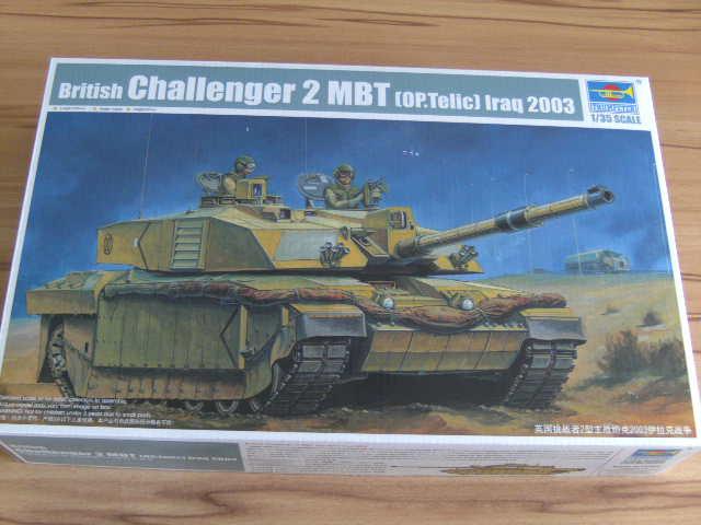 British MBT Challenger 2 - OP Telic - Irak 2003 Bild0012