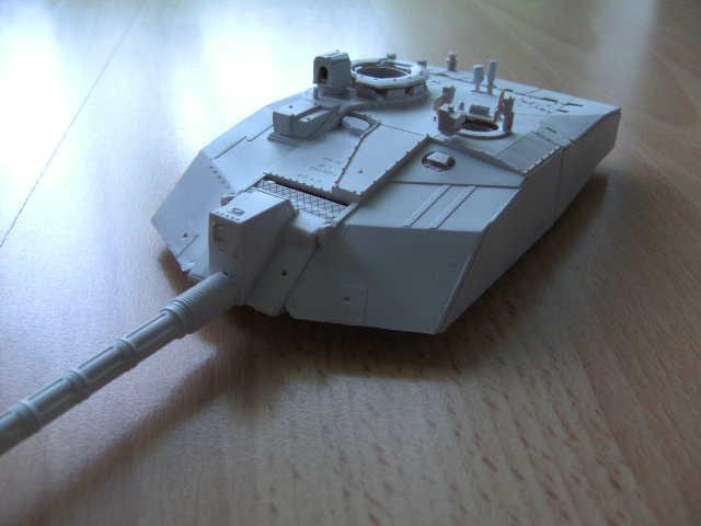 British MBT Challenger 2 - OP Telic - Irak 2003 Bild0022
