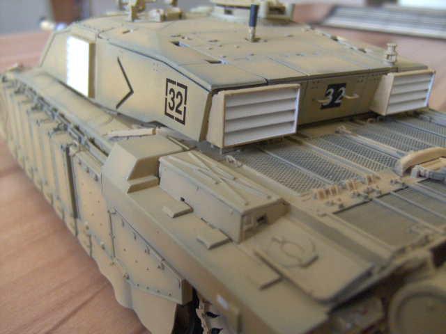 British MBT Challenger 2 - OP Telic - Irak 2003 Bild0034