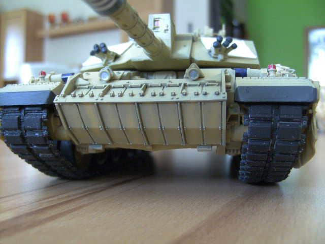 British MBT Challenger 2 - OP Telic - Irak 2003 Bild0036