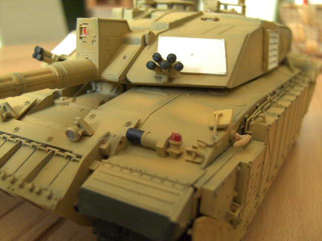 British MBT Challenger 2 - OP Telic - Irak 2003 Bild0037