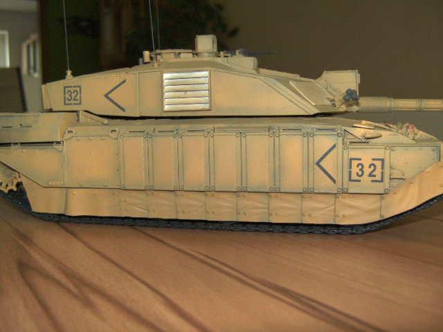 British MBT Challenger 2 - OP Telic - Irak 2003 Bild0038