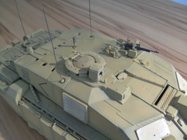 British MBT Challenger 2 - OP Telic - Irak 2003 Bild0042
