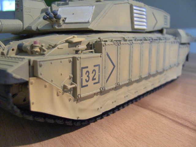 British MBT Challenger 2 - OP Telic - Irak 2003 Bild0044