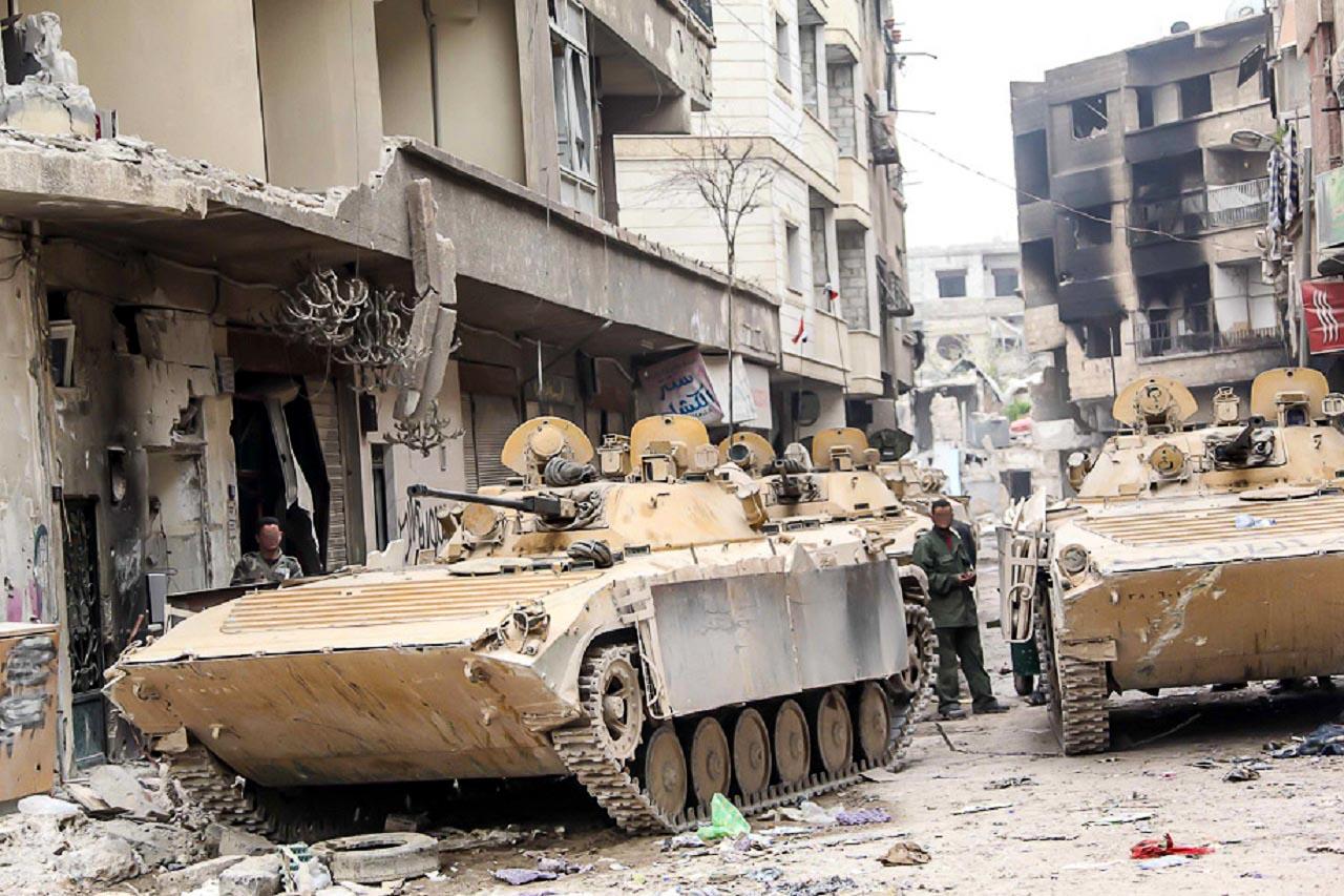 Syrian Armed Forces (Photos, Video) Syrba611