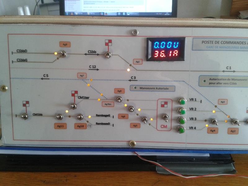 LocoIO : Module d'acquisition / Rétrosignalisation Pupitr10