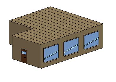Mon premier Pixel Art Isometrique :S Maison10