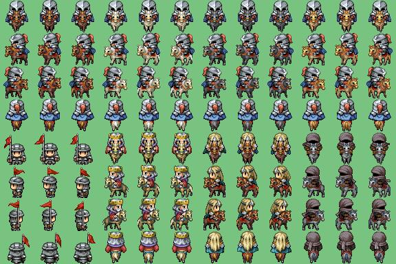 Divers Characters trouvés ^^ Riding10
